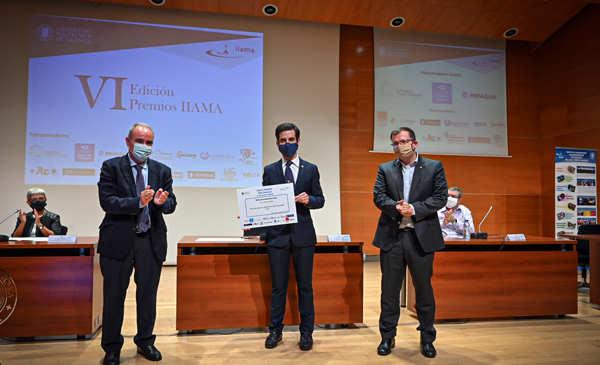 Rafael Bergillos obtuvo el premio a mejor Tesis Doctoral