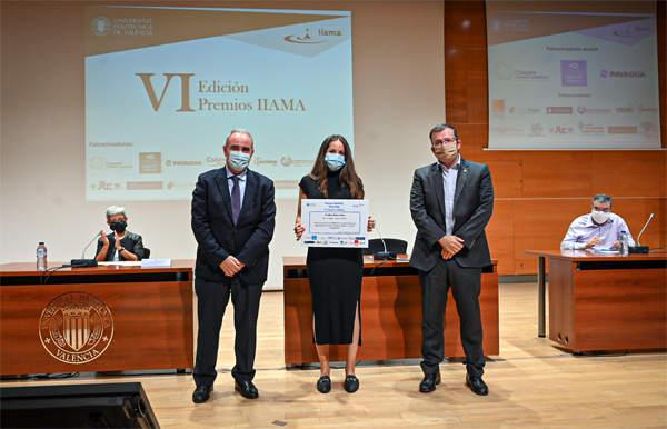 Ariadna Callea obtuvo el premio a mejor TFM/TFG